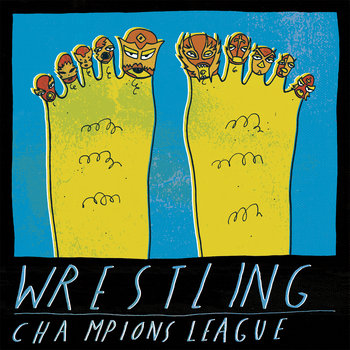 "split 7"" with champions league cover art"