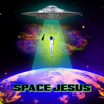 SPACE JESUS cover art