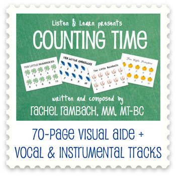 Counting Time Collection: Visual Aide Book + MP3s cover art