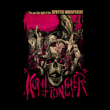This was the night of the SPASTIC WHISPERER! cover art