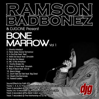 Bone Marrow Vol 1 cover art