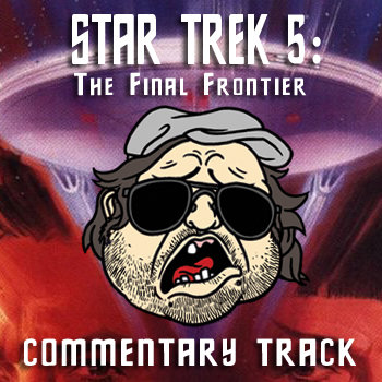 Plinkett's Star Trek 5: The Final Frontier Commentary cover art
