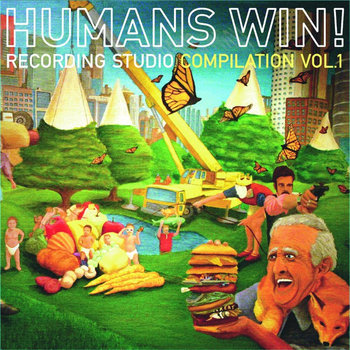 Humans Win! Recording Studio Compilation Vol. 1 cover art