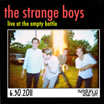 Strange Boys - June 30, 2011 cover art