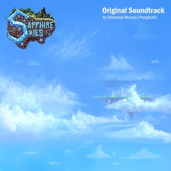 Sapphire Skies Soundtrack cover art