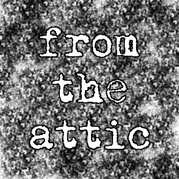 from the attic cover art