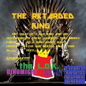 THE RETARDED KING cover art