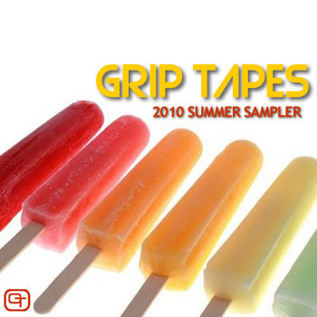 Grip Tapes 2010 Summer Sampler cover art