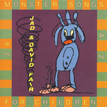 Monster Songs For Children cover art