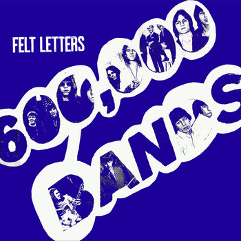 M&#39;LR 015 : FELT LETTERS 7&quot; cover art