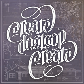 Create/Destroy/Create cover art