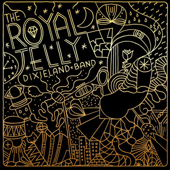 The Royal Jelly Dixieland Band EP cover art