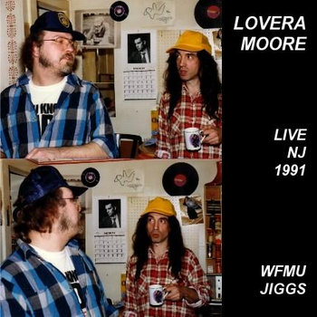 LoveraMoore '91 WFMU cover art
