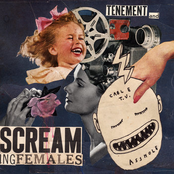 TENEMENT / SCREAMING FEMALES SPLIT RECORD + MORE cover art