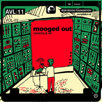 Mooged Out Asheville Volume 2 cover art