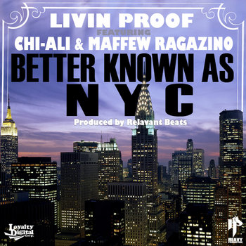 Better Known As NYC Ft. Chi-Ali & Maffew Ragazino (Single) cover art