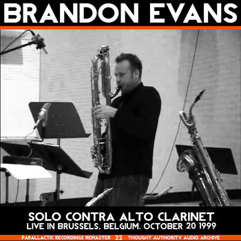 Forgiveness – Solo Contra Alto Clarinet (Live in Brussels 1999) cover art
