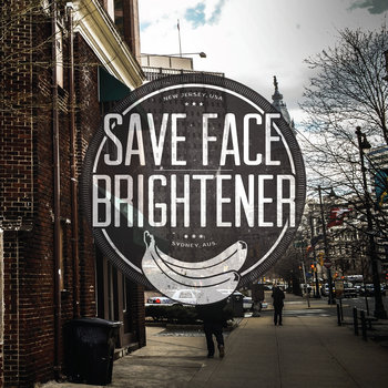 Save Face | BRIGHTENER Banana Split EP cover art
