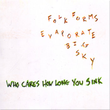 Folk Forms Evaporate Big Sky cover art