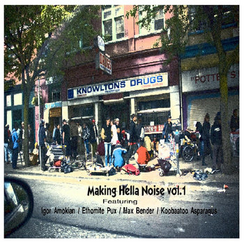 Various Artists - Making Hella Noise cover art