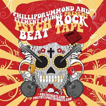 Phillipdrummond and Element Lounge Present: Psych Rock Beat Tape cover art