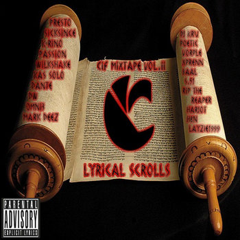 CIF Mixtape Vol.II Lyrical Scrolls cover art