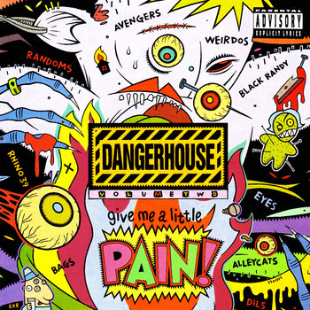 Dangerhouse Volume 2 cover art