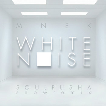 White noise (Soulpusha Snowremix) cover art