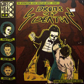 Drums Of Death Enters The Ring cover art