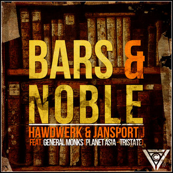 Bars &amp; Noble feat. General Monks (Planet Asia &amp; TriState) cover art