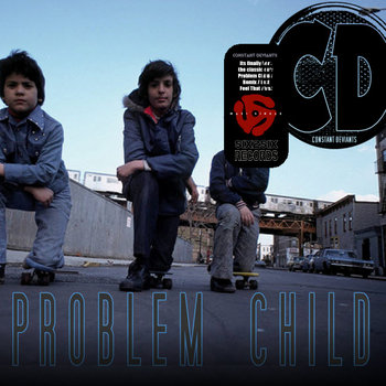 &#39;PROBLEM CHILD + FEEL THAT&#39; 12&quot; VLS cover art