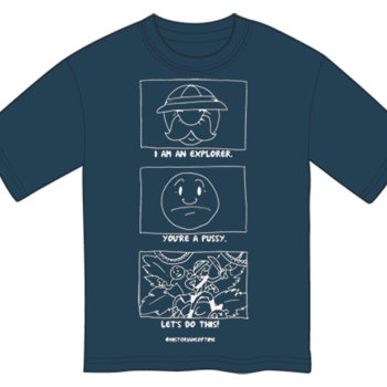 Historians of Time: Explorer Shirt! cover art