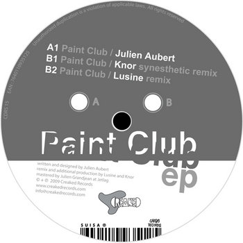 JULIEN AUBERT - Paint Club EP cover art