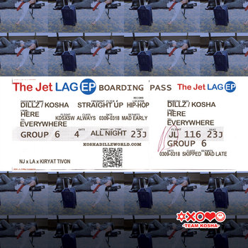The Jet Lag EP cover art