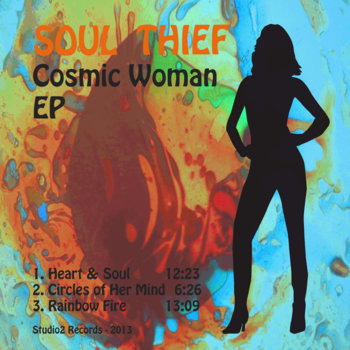 Cosmic Woman EP cover art