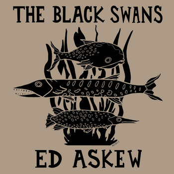 "Ed Askew / The Black Swans Split 7"" Single cover art"