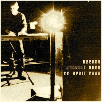 Arcane-Live at Jodrell Bank 2000 cover art