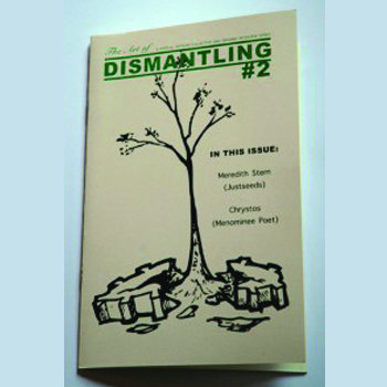 Art of Dismantling Zine: Issue #2 cover art