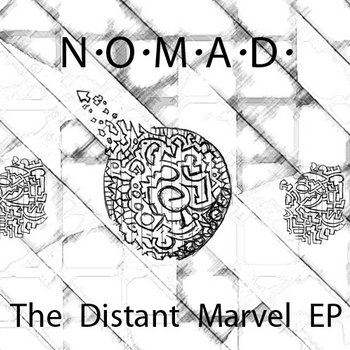 The Distant Marvel EP cover art