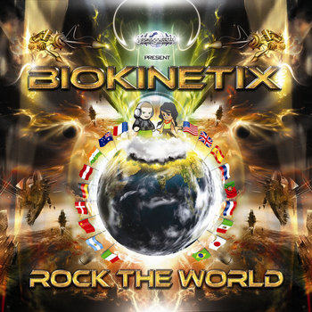 Rock The World - BIOKINETIX (Geomagnetic) cover art