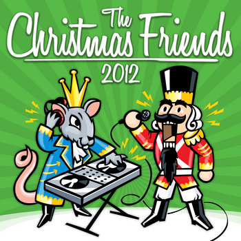 The Christmas Friends 2012 cover art
