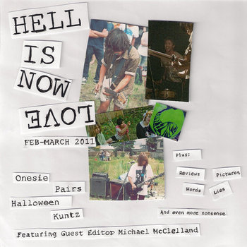 Hell Is Now Love - Issue Three March 2011 cover art