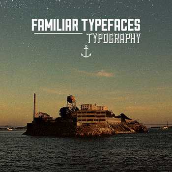 Typography cover art