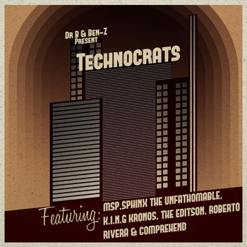 Technocrats cover art