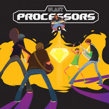 The Blast Processors EP cover art