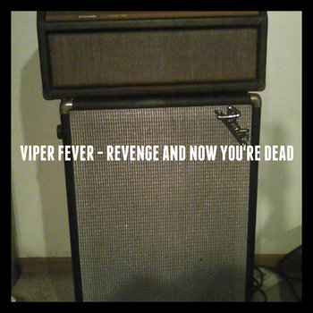 Revenge and Now You're Dead cover art