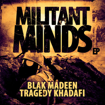 Militant Minds EP cover art