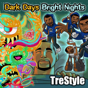 Dark Days Bright Nights cover art