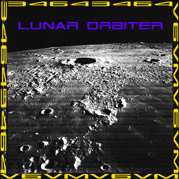 Lunar Orbiter cover art