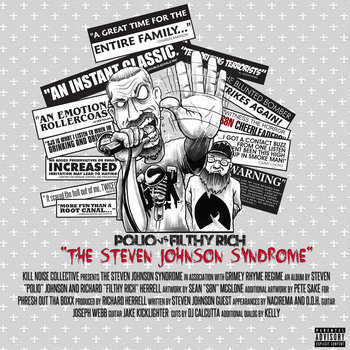 The Steven Johnson Syndrome cover art